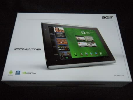 AcerのAndroidタブレット「ICONIA TAB A500」を買ってみた!