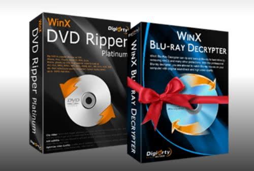 「WinX DVD Ripper Platinum」が無料で貰えるキャンペーンを実施中!