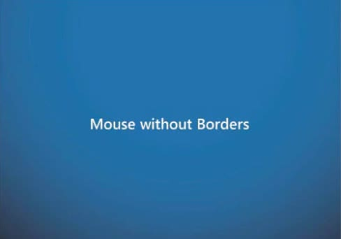 Microsoft製の複数PCでのマウス&キーボード共有ソフト「Mouse Without Borders」!