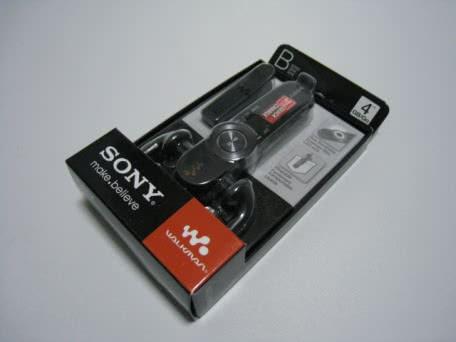 海外限定モデルのSony Walkman NWZ-B163Bを買ってみた!