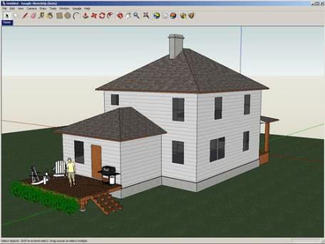 3Dデザインツール「Google SketchUp」を公開!