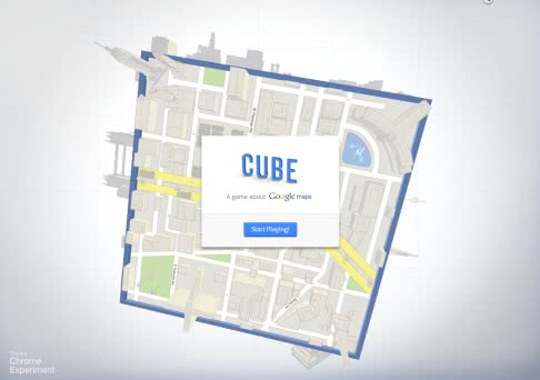 Googleマップで遊べる「Cube A game about Google Maps」がおもしろい!