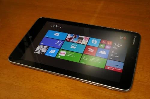 激安で薄型軽量Windows8タブレット「Lenovo Miix 2 8」を買ってみた!