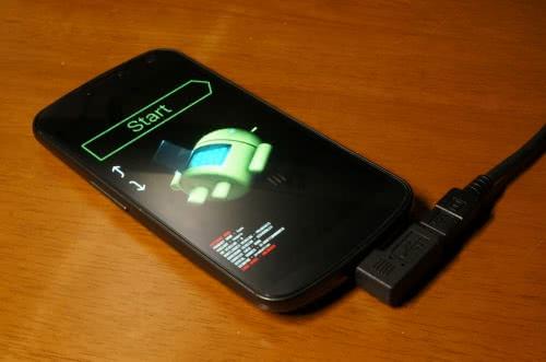 Galaxy Nexusをドライバがアップデートされたomni 4.4.4(KitKat)にしてみた!