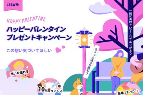 最大50%オフ!Leawo ハッピーバレンタインプレゼントキャンペーン!