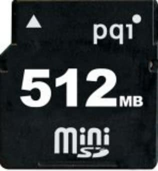 miniSDカード 512MBが送料込み1900円の激安!!
