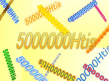 祝5000000Hits!!!