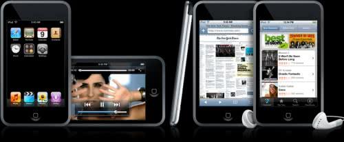 Apple タッチパネルと無線LAN搭載の「iPod touch」を発表!