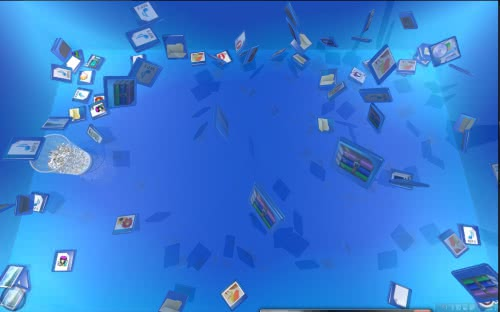 デスクトップ改造26 デスクトップをリアルに立体化する「Real Desktop Light」!
