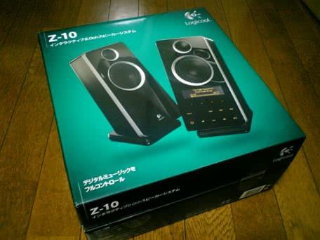 Logicoolのタッチパネル搭載 2.0chスピーカー「Z-10」を買ってみた!