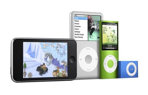 Apple 新型iPodシリーズを発表!