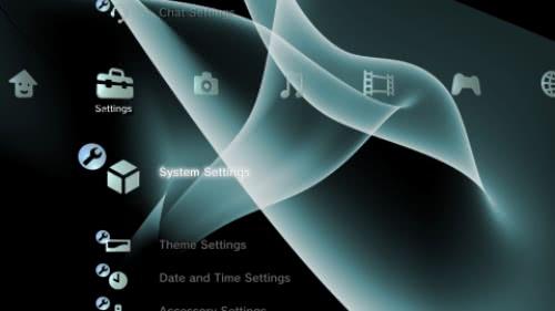 PLAYSTATION 3(PS3)のカスタムテーマでカスタマイズ!