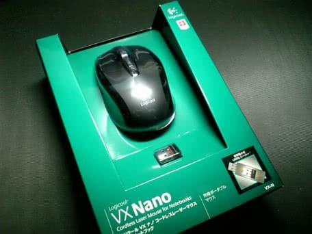 世界最小USBレシーバーを持つマウスLogicool VX Nanoを買ってみた!