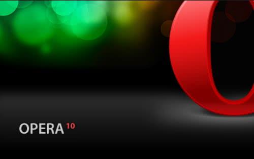 40%高速化された「Opera 10」RC版を公開、正式版は9月1日リリース予定!