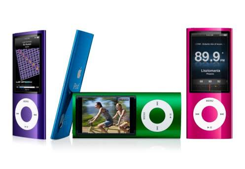 Apple iPodシリーズの新モデルを発表!iPod nanoはビデオカメラ搭載!