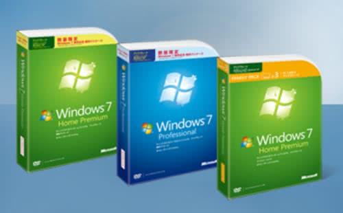 ついに一般向け「Windows 7」が発売開始!