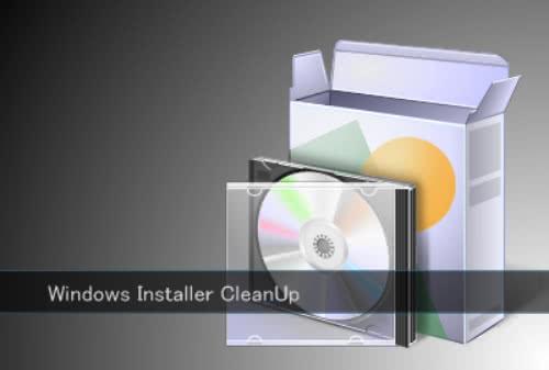 簡単にインストール情報を削除できるソフト「Windows Installer CleanUp」!