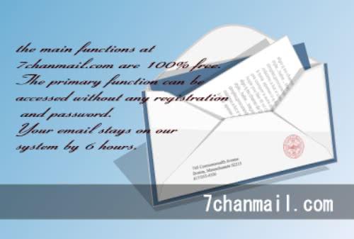 登録不要の使い捨てメールアドレス「ナナチャンメール」!